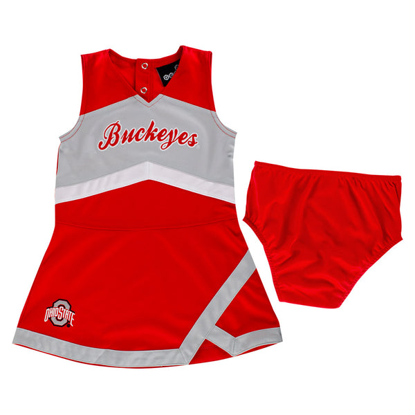 Toddler Ohio State Cheer Captain Set