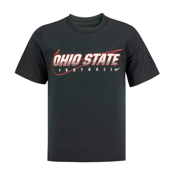 Youth Ohio State Buckeyes Nike Facility Cotton T-Shirt