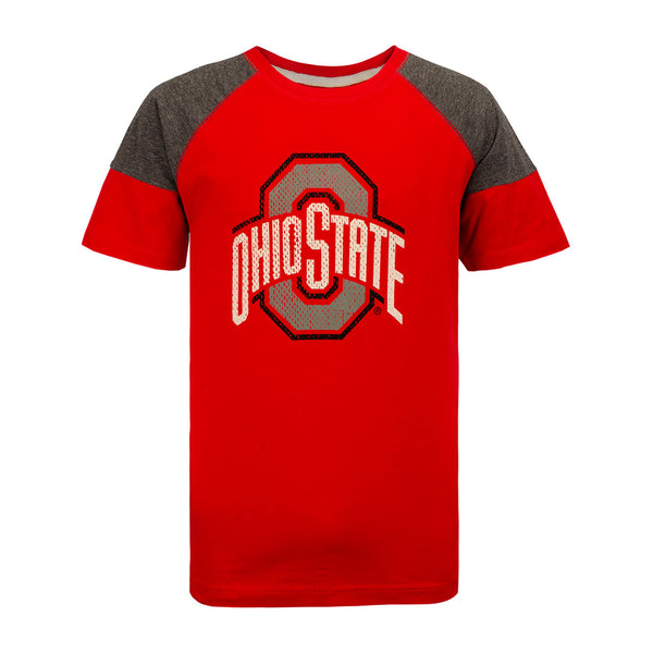 Youth Ohio State Raglan Kristoff T-Shirt