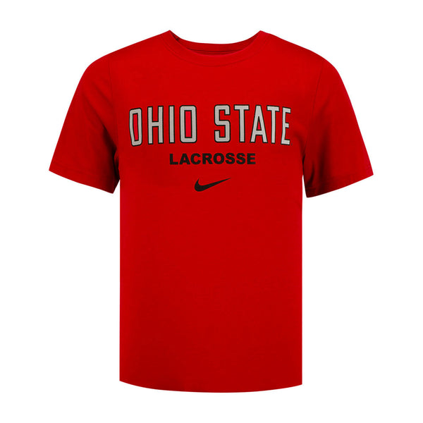 Youth Ohio State Buckeyes Core Lacrosse T-Shirt