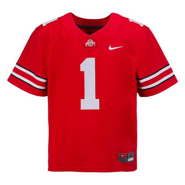 Youth Ohio State Buckeyes Nike Football Game #1 Replica Jersey