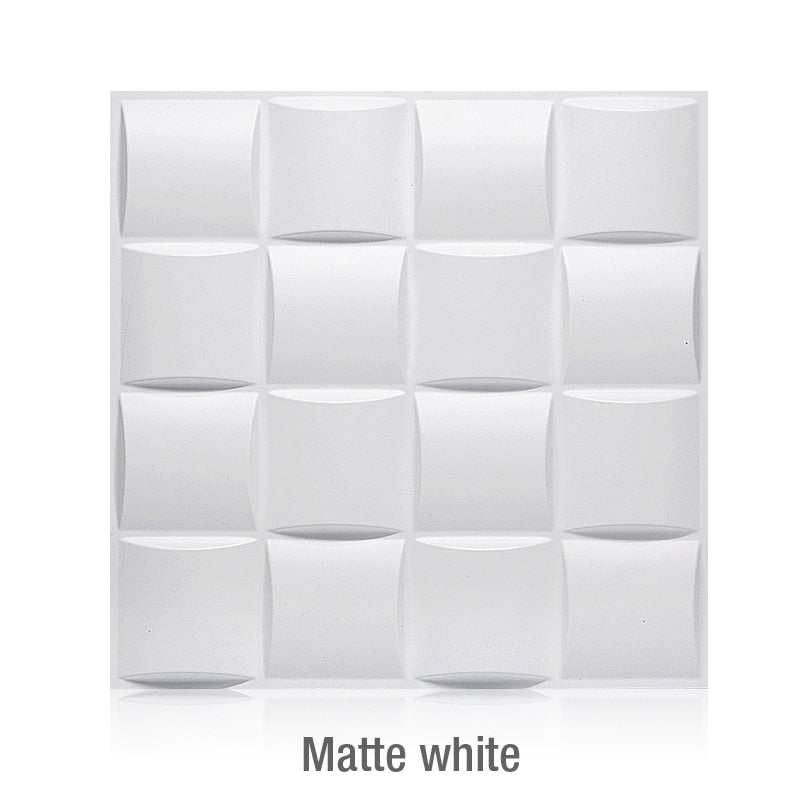 Waterproof 3D panel (white only)