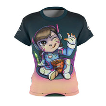 "Load image into Gallery viewer, ""DVA"" - Meents Illustrated Authentic - Full Sublimated Cut & Sew Tee - JAXGFX"