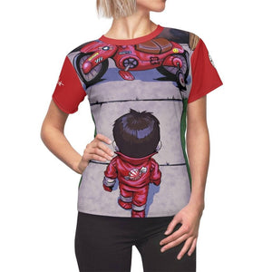 """Akira"" - Meents Illustrated Authentic - Full Sublimated Cut & Sew Tee - JAXGFX"