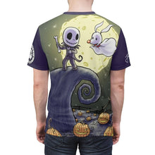"Load image into Gallery viewer, ""Jack & Zero"" - Meents Illustrated Authentic - Full Sublimated Cut & Sew Tee - JAXGFX"