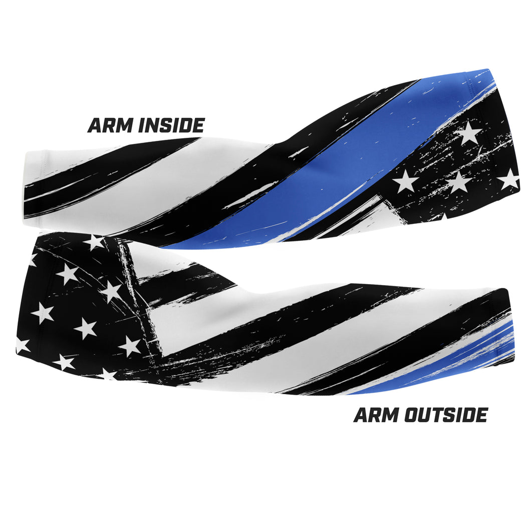 Thin Blue Line - Arm Sleeves