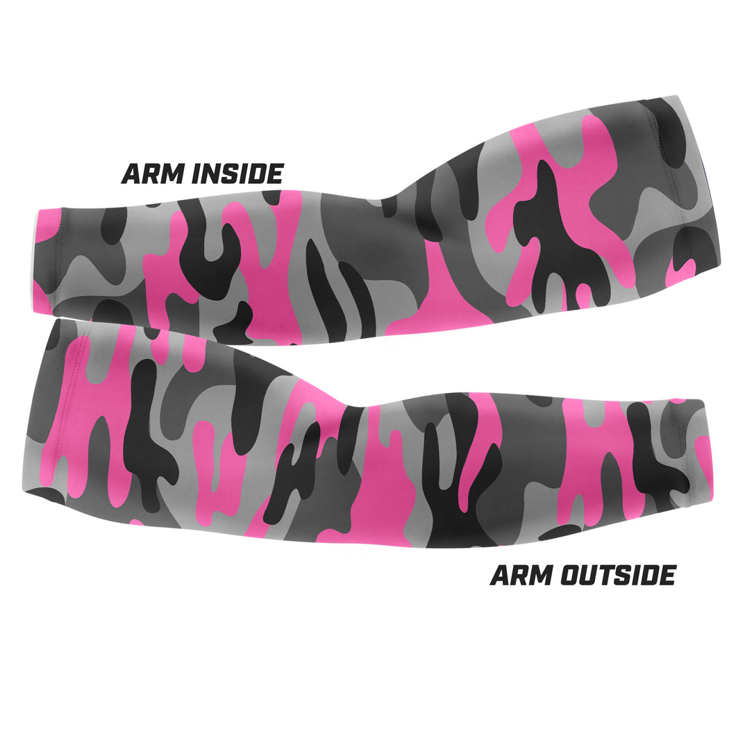 Pink Camo - Arm Sleeves
