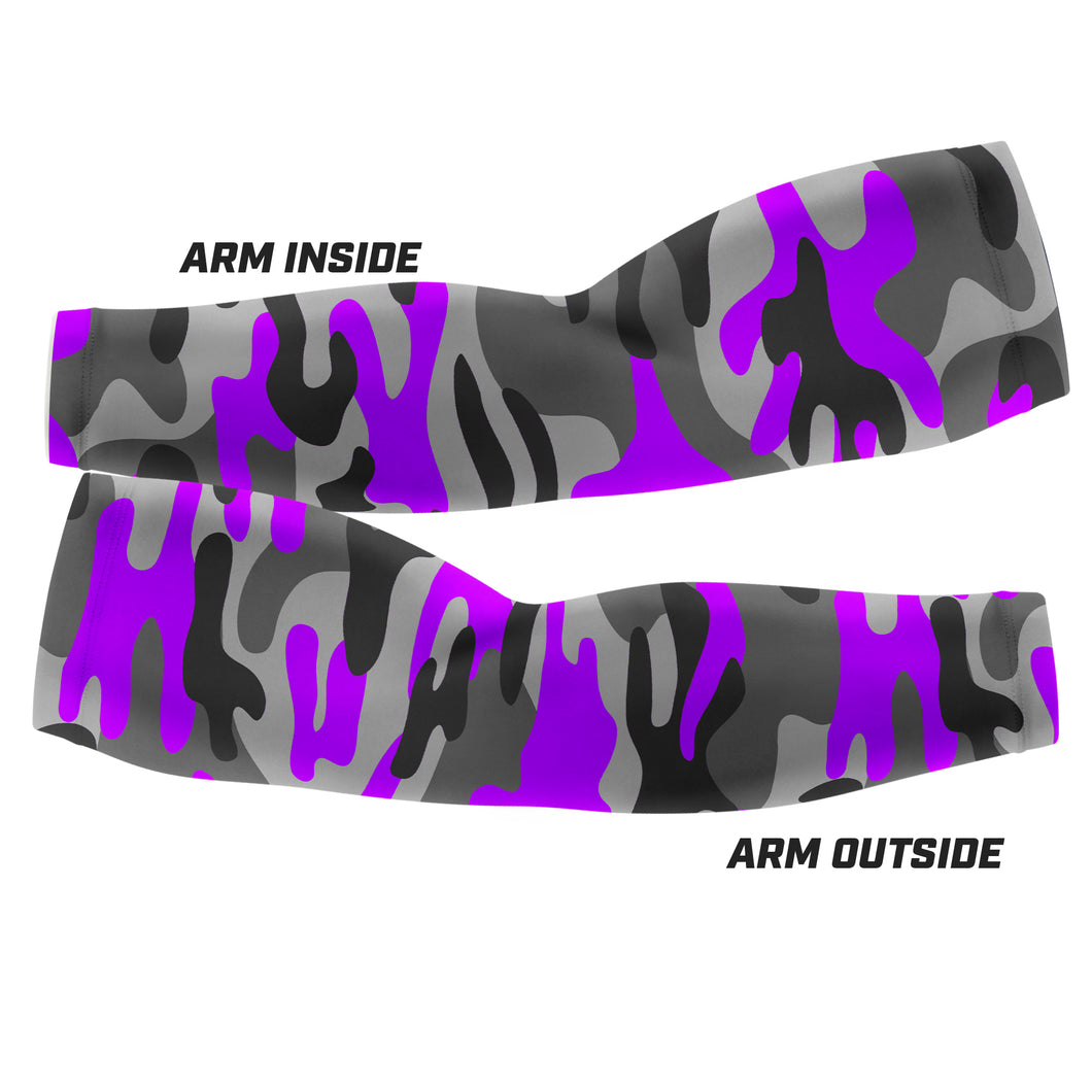Purple Camo - Arm Sleeves