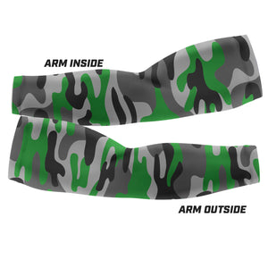 Green Camo - Arm Sleeves