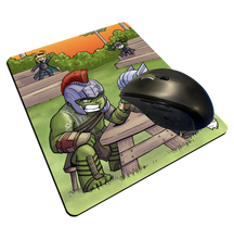 "Load image into Gallery viewer, ""Arm Wrestling Championship"" Meents Illustrated Authentic Mouse Pad"