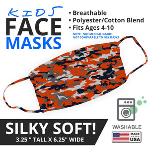 Bears Themed Camo Face Mask - By JAX - JAXGFX