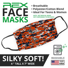 Load image into Gallery viewer, Bears Themed Camo Face Mask - By JAX - JAXGFX