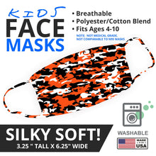 Load image into Gallery viewer, Bengals Themed Camo Face Mask - By JAX - JAXGFX