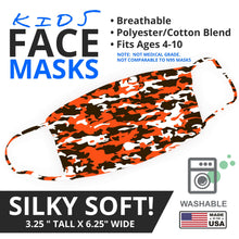 Load image into Gallery viewer, Browns Themed Camo Face Mask - By JAX - JAXGFX