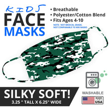 Load image into Gallery viewer, Jets Themed Camo Face Mask - By JAX - JAXGFX
