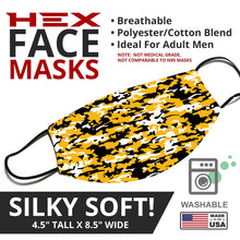 Load image into Gallery viewer, Steelers Themed Camo Face Mask - By JAX - JAXGFX