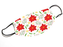 Load image into Gallery viewer, Flower Pattern Christmas (v.8) - Face Mask Designed By EVIE!