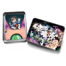 "Load image into Gallery viewer, ""DVA"" - Meents Illustrated Authentic Design - 120 Piece Jigsaw Puzzle"
