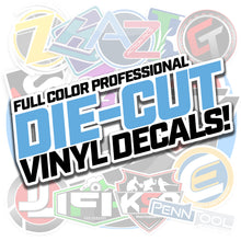 Load image into Gallery viewer, Premium Cast Vinyl Decal Stickers - Die Cut - Upload Your Logo!