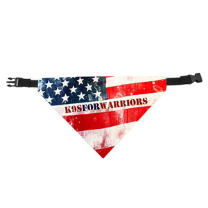 K9's For Warriors Pet Scarf Collar - JAXGFX