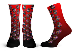 """Gambit Pattern"" - Meents Illustrated Authentic Kids Socks"