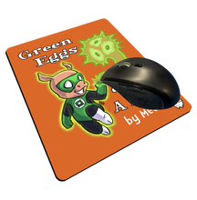 "Load image into Gallery viewer, ""Green Eggs & Ham"" Meents Illustrated Authentic Mouse Pad"