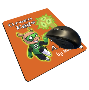"""Green Eggs & Ham"" Meents Illustrated Authentic Mouse Pad"