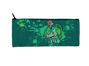 """Bulbasaur"" Meents Illustrated Authentic Small Pencil/Device Bag"