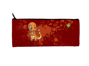 """Charmander"" Meents Illustrated Authentic Small Pencil/Device Bag"
