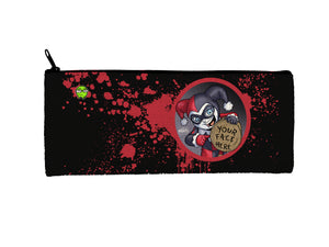 """Harley"" Meents Illustrated Authentic Small Pencil/Device Bag"