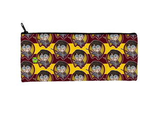 """Harry Potter (Pattern)"" Meents Illustrated Authentic Small Pencil/Device Bag"