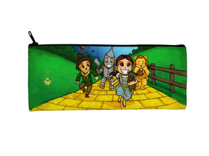 """OZ"" Meents Illustrated Authentic Small Pencil/Device Bag"