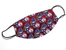 "Load image into Gallery viewer, ""Cap For Kids (Pattern)"" - Meents Illustrated Authentic Design Face Mask"