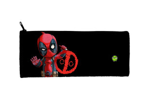 """Deadpool"" Meents Illustrated Authentic Small Pencil/Device Bag"
