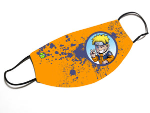 """Naruto"" - Meents Illustrated Authentic Design Face Mask"