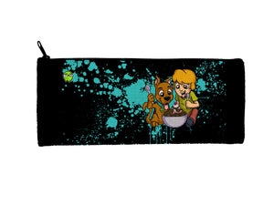 """Scooby"" Meents Illustrated Authentic Small Pencil/Device Bag"