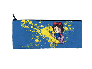 """Snow White"" Meents Illustrated Authentic Small Pencil/Device Bag"