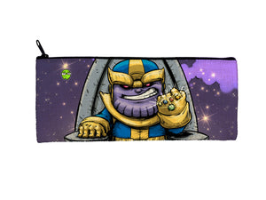 """Thanos"" Meents Illustrated Authentic Small Pencil/Device Bag"