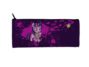 """Twilight Spike"" Meents Illustrated Authentic Small Pencil/Device Bag"