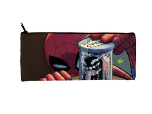 """Venom Jar"" Meents Illustrated Authentic Small Pencil/Device Bag"