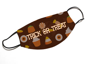 Trick or Treat - Face Mask Designed By EVIE!
