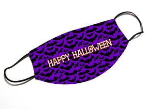 Happy Halloween (V12)- Face Mask Designed By EVIE!