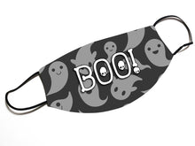 Load image into Gallery viewer, BOO! Ghost (V13)- Face Mask Designed By EVIE!