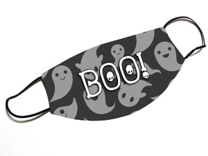 BOO! Ghost (V13)- Face Mask Designed By EVIE!