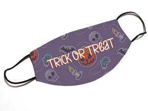 Trick or Treat (V14)- Face Mask Designed By EVIE!