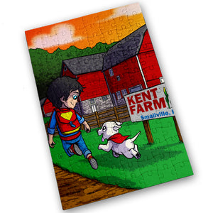 """Kent Farm"" - Meents Illustrated Authentic Design - 120 Piece Jigsaw Puzzle"