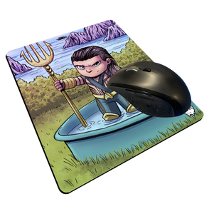 """Mamoa Aquaman"" Meents Illustrated Authentic Mouse Pad"