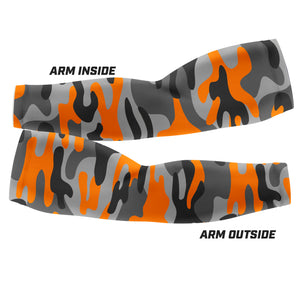 Orange Camo - Arm Sleeves