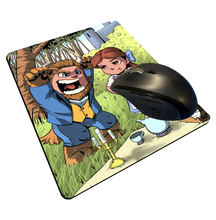 "Load image into Gallery viewer, ""Picnic"" Meents Illustrated Authentic Mouse Pad"
