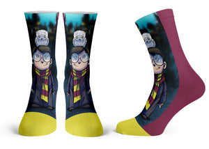"""Potter"" - Meents Illustrated Authentic Kids Socks"